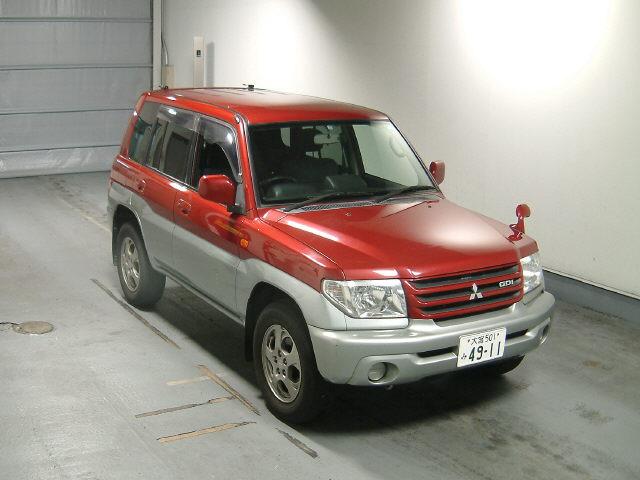 1999 Mitsubishi Pajero Io. 2001 Mitsubishi Pajero IO