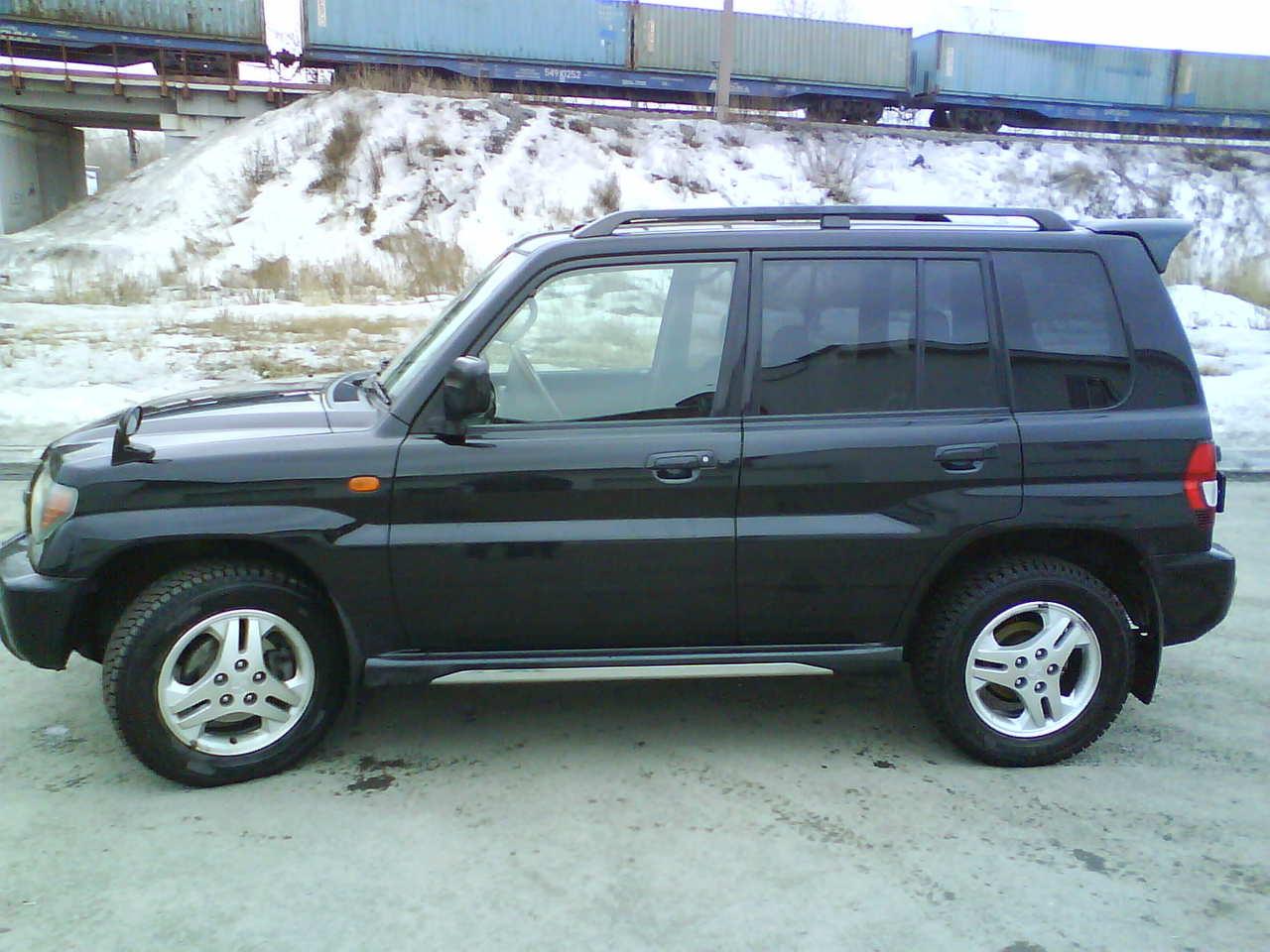2001 mitsubishi pajero io for sale 1 8 gasoline automatic for sale