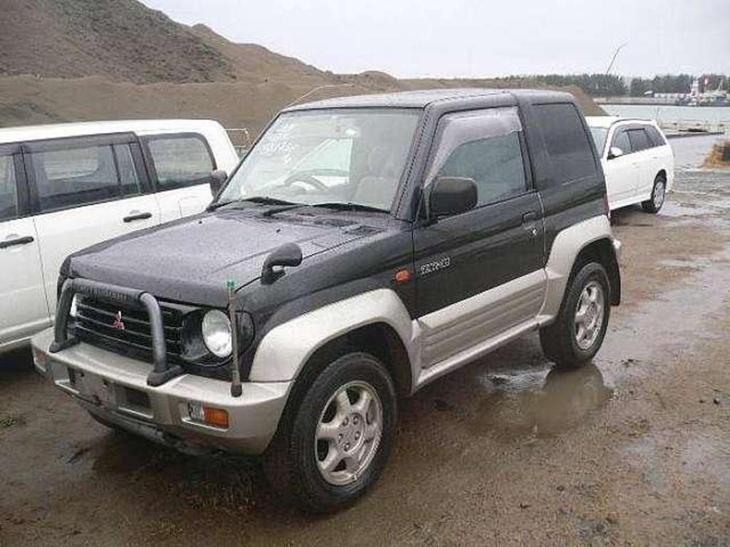 Photo 1 enlarge photo 1024x768 1996 mitsubishi pajero junior