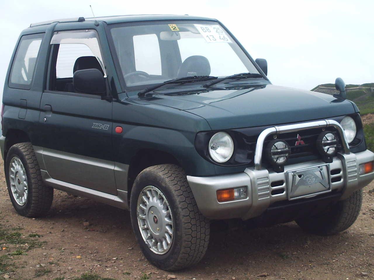1995 Mitsubishi Pajero Mini Pictures 660cc Gasoline