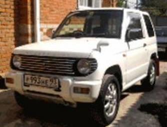 1998 Mitsubishi Pajero Mini Automatic related infomation