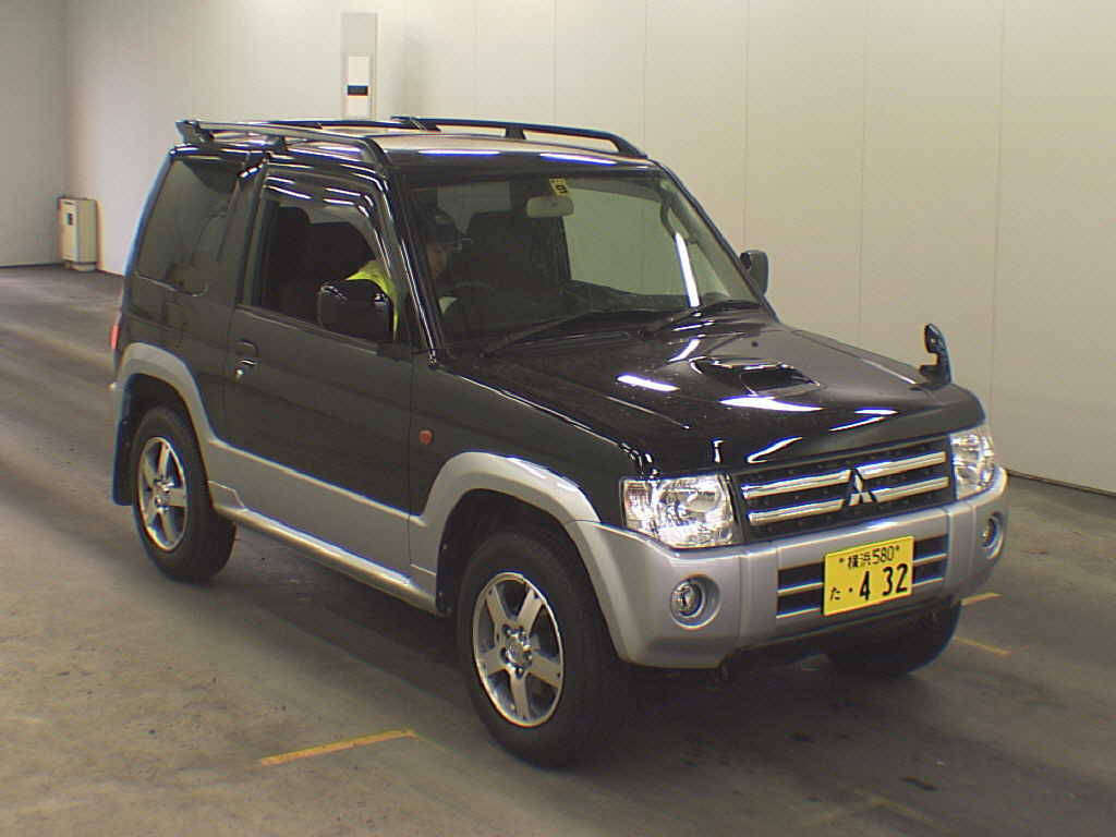 2008 Mitsubishi Pajero Mini Photos 0 7 Gasoline