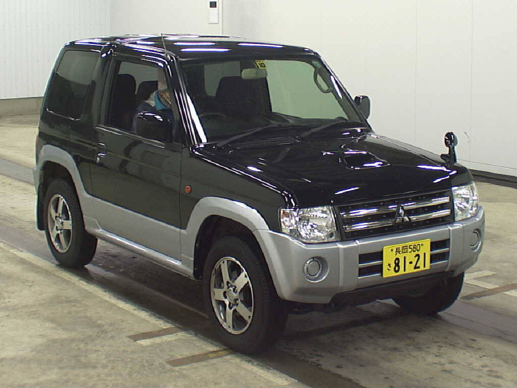 mitsubishi pajero mini 660