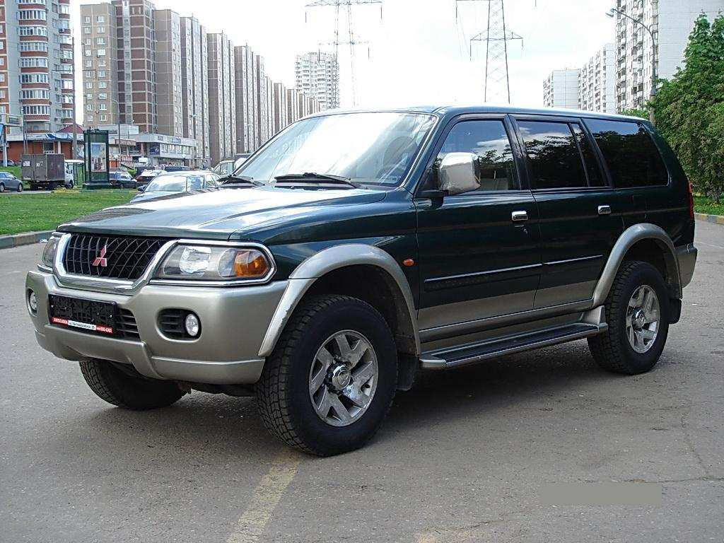 1999 Mitsubishi Pajero Sport Pictures, 3000cc., Gasoline, Automatic For Sale