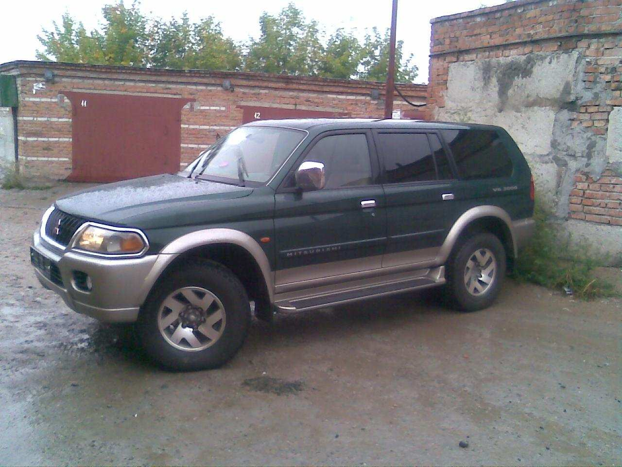 2000 Mitsubishi Pajero Sport Pictures, 3000cc., Gasoline, Automatic For Sale