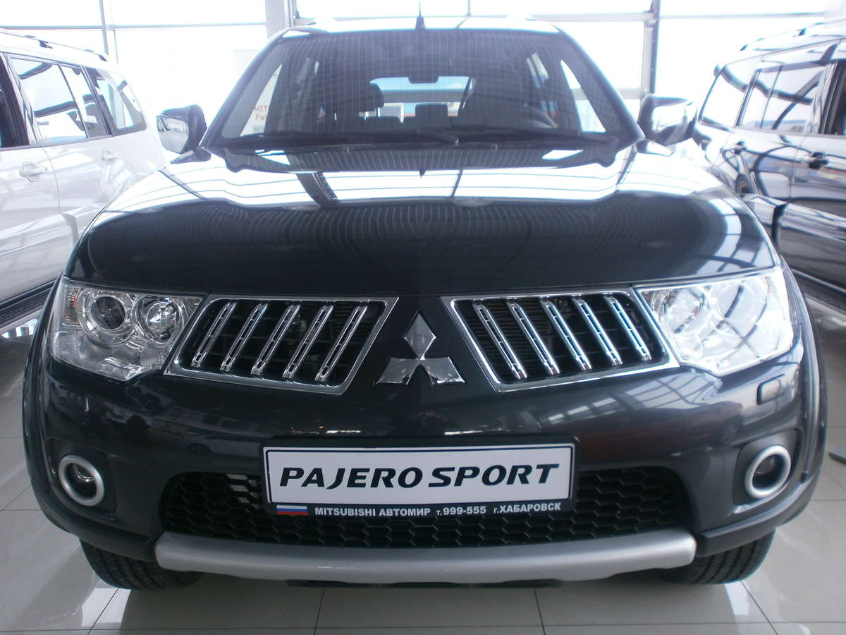 Photo #5   Enlarge Photo 1200x900 2011 Mitsubishi Pajero Sport Wallpapers
