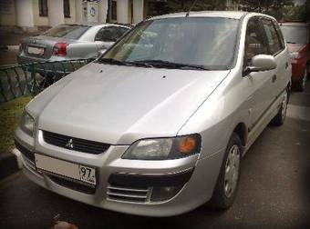 2003 mitsubishi space star pictures gasoline ff automatic for sale. Black Bedroom Furniture Sets. Home Design Ideas