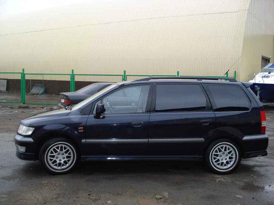 1999 mitsubishi space wagon pictures gasoline ff automatic for sale. Black Bedroom Furniture Sets. Home Design Ideas