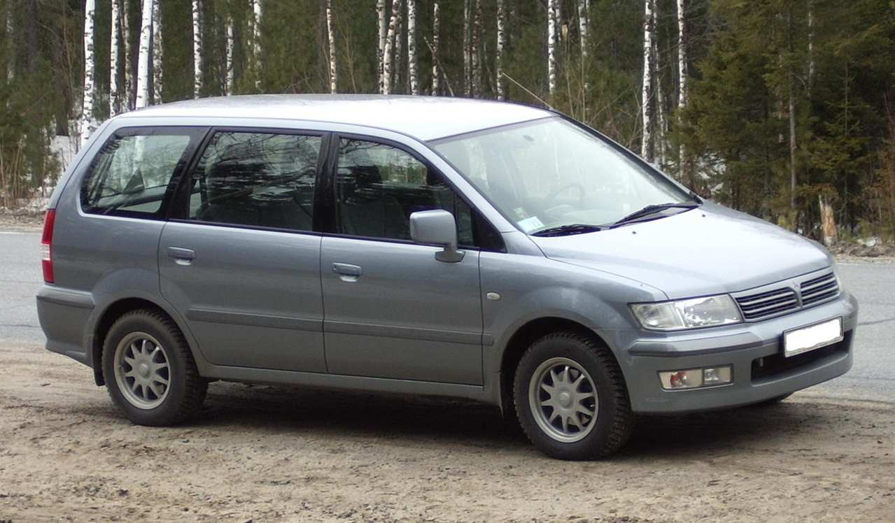 2003 mitsubishi space wagon for sale 2 4 gasoline ff automatic for sale. Black Bedroom Furniture Sets. Home Design Ideas