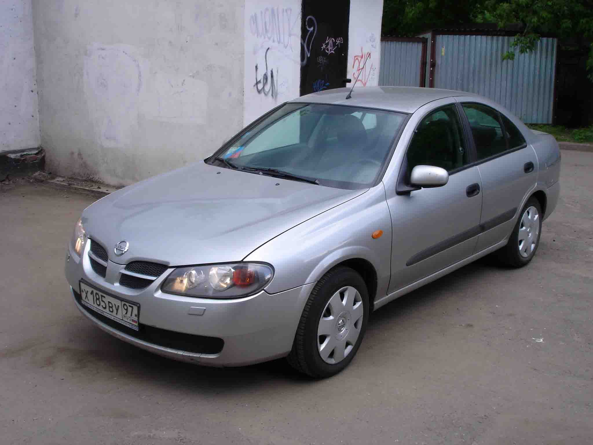 2003 nissan almera pictures 1500cc gasoline ff manual for sale. Black Bedroom Furniture Sets. Home Design Ideas