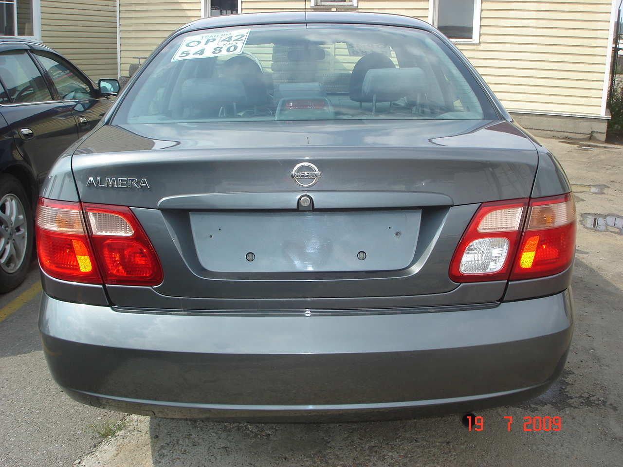 2004 nissan almera for sale 1500cc gasoline ff manual for sale. Black Bedroom Furniture Sets. Home Design Ideas