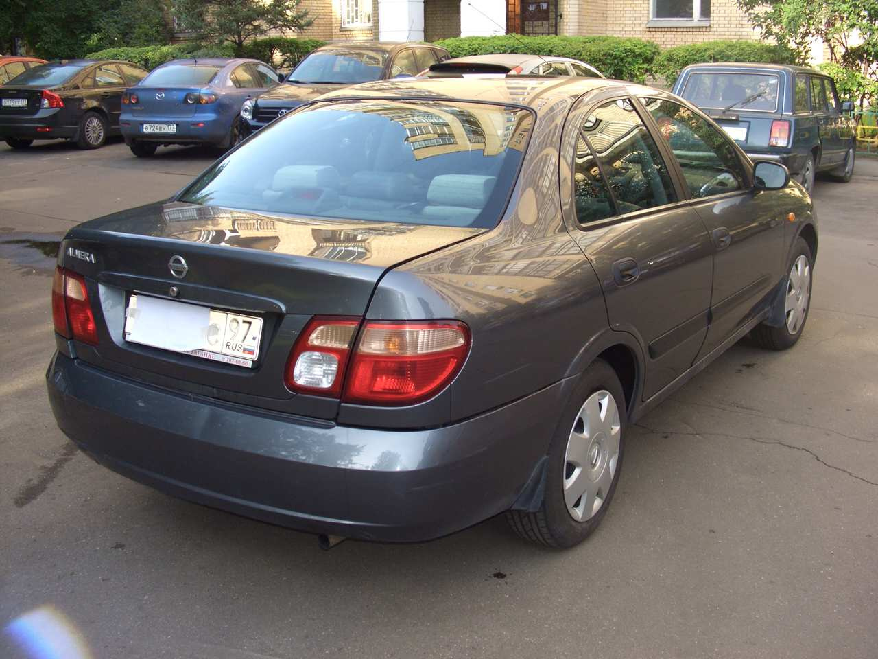 used 2004 nissan almera photos 1769cc gasoline ff automatic for sale. Black Bedroom Furniture Sets. Home Design Ideas