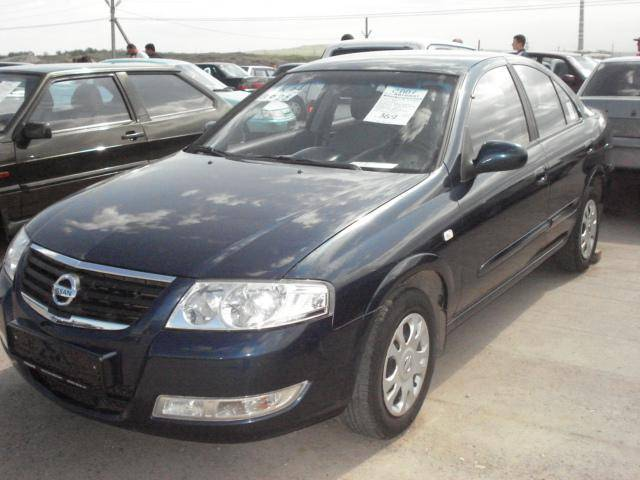 2007 nissan almera pictures gasoline ff automatic for sale. Black Bedroom Furniture Sets. Home Design Ideas