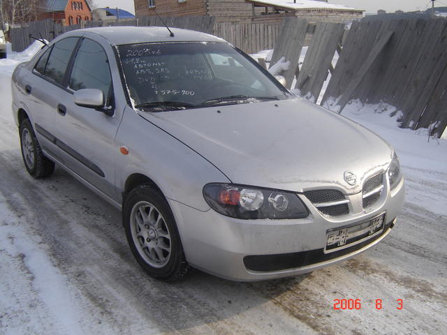 2005 nissan almera classic pictures 1800cc gasoline ff automatic for sale. Black Bedroom Furniture Sets. Home Design Ideas