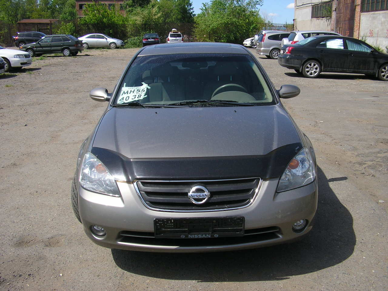 used 2002 nissan altima pics 2 5 gasoline ff automatic for sale. Black Bedroom Furniture Sets. Home Design Ideas