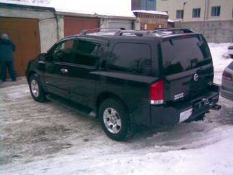 2004 nissan armada photos 5 6 gasoline automatic for sale. Black Bedroom Furniture Sets. Home Design Ideas