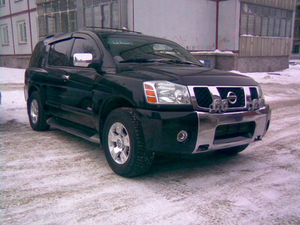 2004 nissan armada pictures 5600cc gasoline automatic. Black Bedroom Furniture Sets. Home Design Ideas