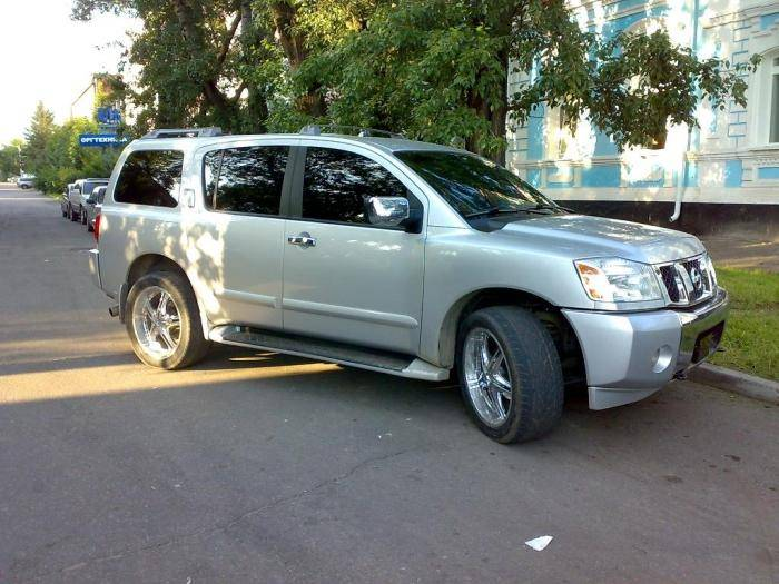used 2004 nissan armada photos 5600cc gasoline automatic for sale. Black Bedroom Furniture Sets. Home Design Ideas