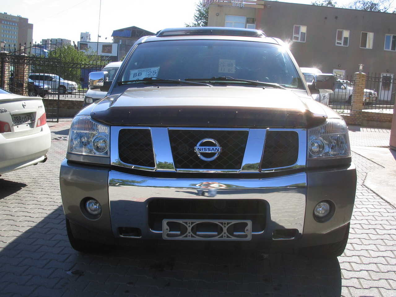 2006 nissan armada pictures gasoline automatic for sale. Black Bedroom Furniture Sets. Home Design Ideas