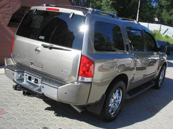used 2006 nissan armada photos 5600cc gasoline automatic for sale. Black Bedroom Furniture Sets. Home Design Ideas
