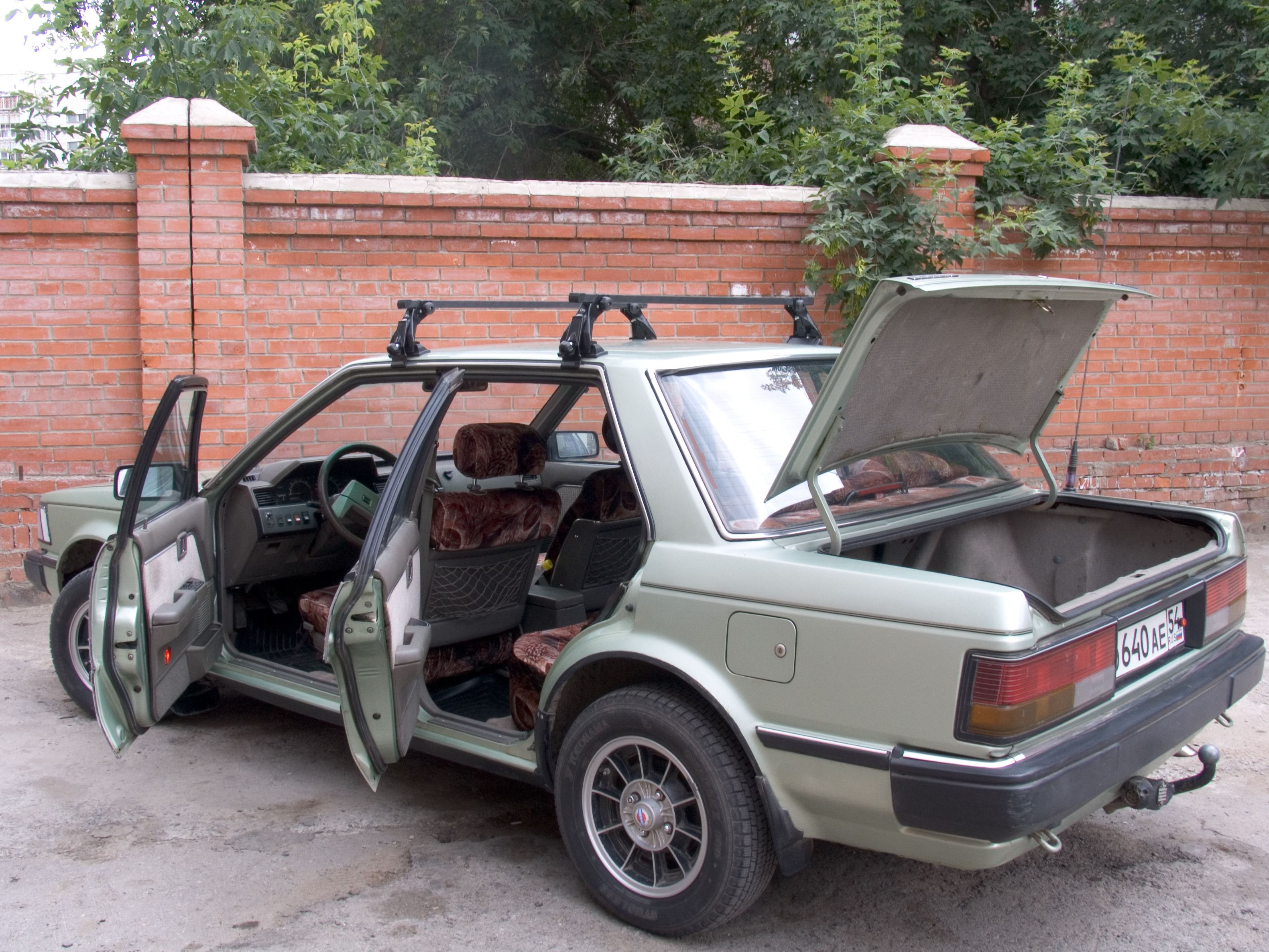 1987 nissan bluebird pictures, 2000cc., gasoline, ff, manual for sale, Wiring diagram