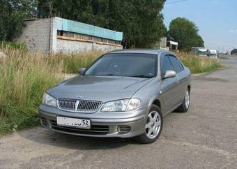2001 Nissan Bluebird Pictures