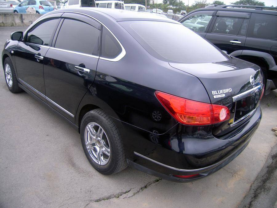 2008 Nissan Bluebird Sylphy Pictures 1 5l Gasoline Ff