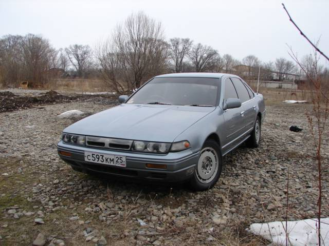 1989 Nissan Cefiro Pictures For Sale