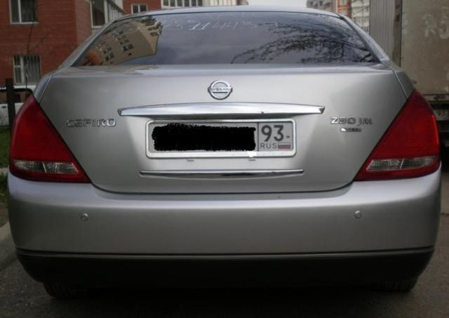 2003 Nissan Cefiro Pics