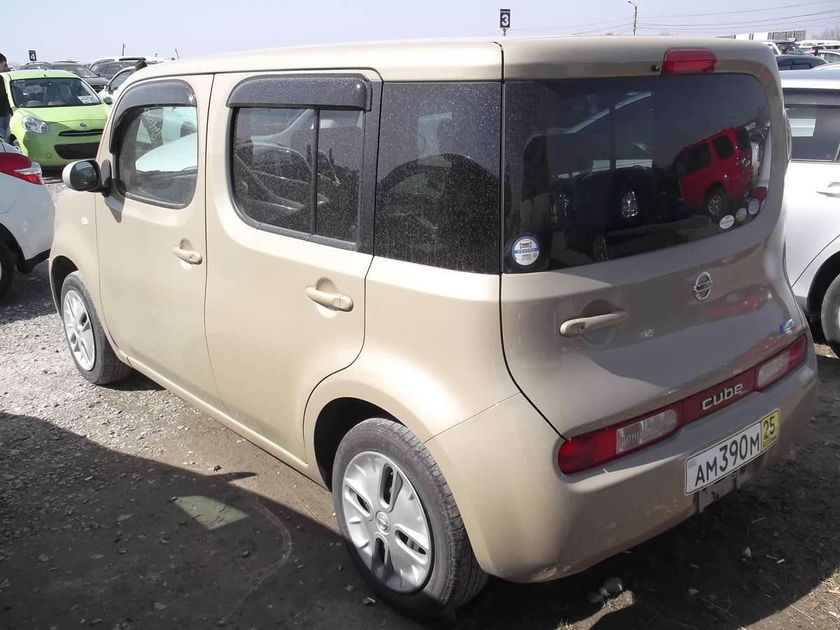used 2010 nissan cube photos 1500cc gasoline ff automatic for sale. Black Bedroom Furniture Sets. Home Design Ideas