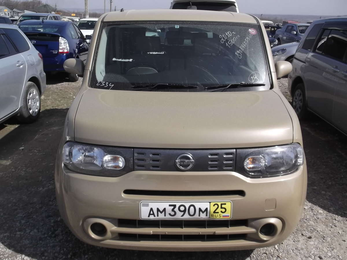 2010 nissan cube pictures gasoline ff automatic for sale. Black Bedroom Furniture Sets. Home Design Ideas