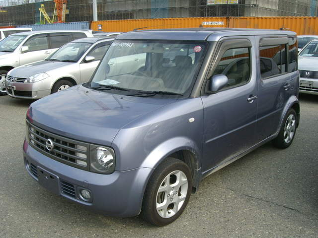 used 2004 nissan cube cubic photos 1400cc gasoline ff automatic for sale. Black Bedroom Furniture Sets. Home Design Ideas