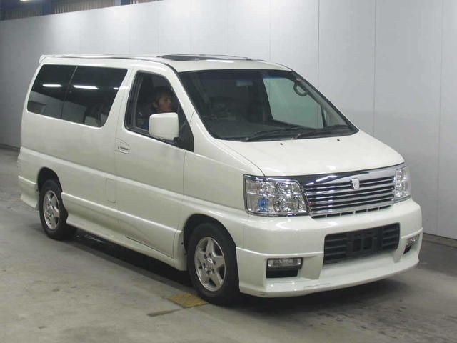 2001 Nissan Elgrand Pictures