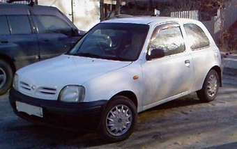 1998 nissan march pictures gasoline ff automatic for sale. Black Bedroom Furniture Sets. Home Design Ideas