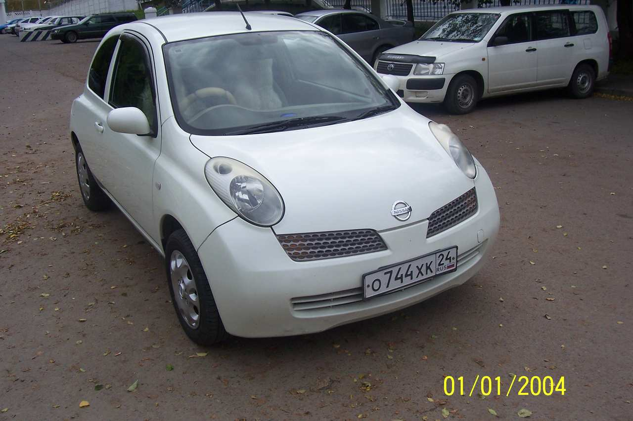 2002 nissan march pictures 1300cc gasoline ff automatic for sale. Black Bedroom Furniture Sets. Home Design Ideas
