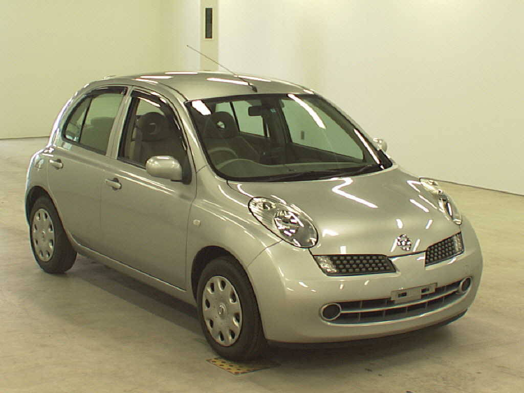 2005 nissan march photos 1 2 gasoline ff automatic for. Black Bedroom Furniture Sets. Home Design Ideas