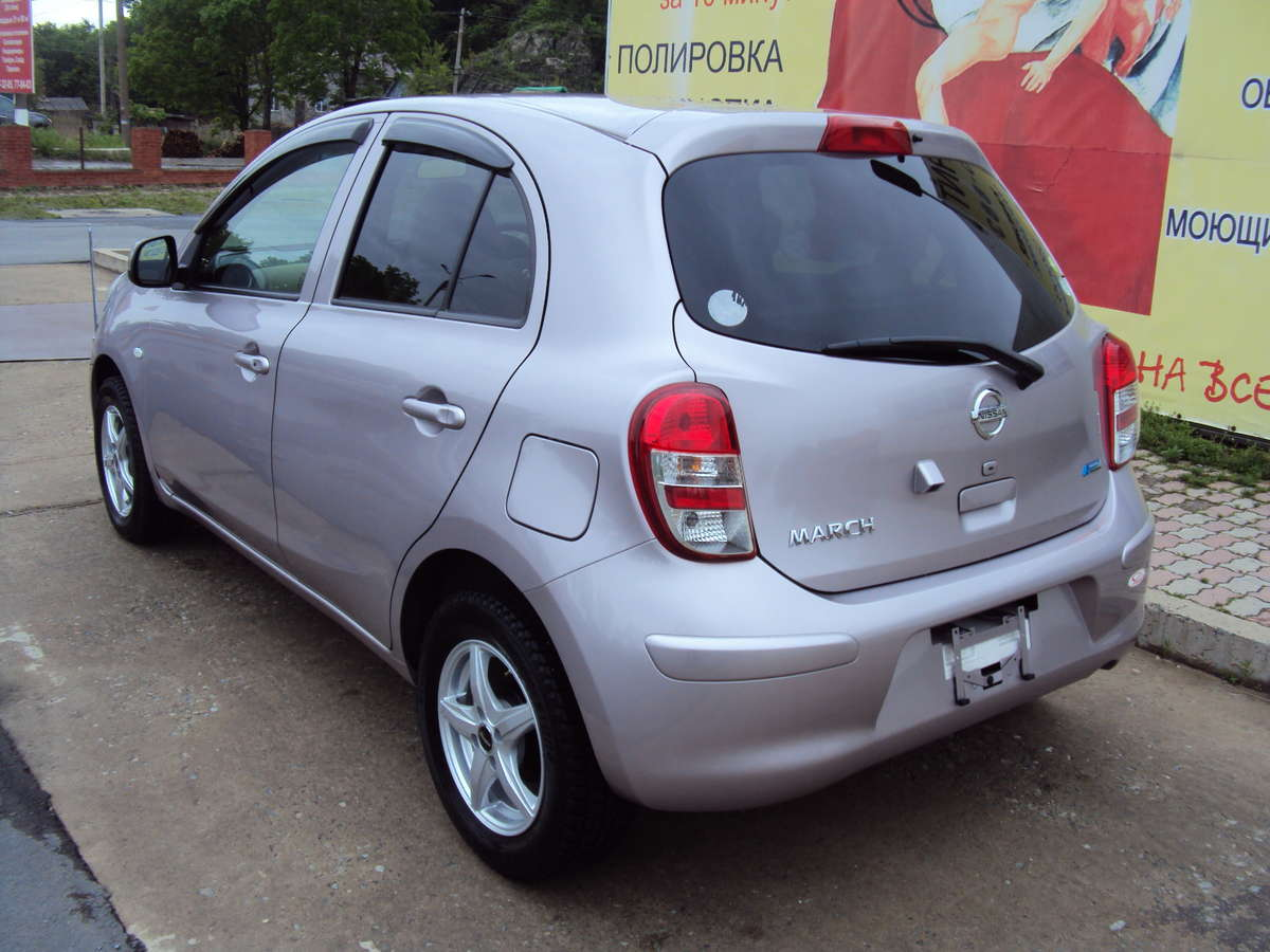 used 2010 nissan march photos 1300cc gasoline automatic for sale. Black Bedroom Furniture Sets. Home Design Ideas