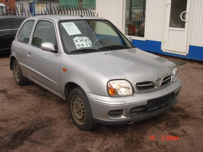 2001 nissan micra photos 1 0 gasoline ff manual for sale. Black Bedroom Furniture Sets. Home Design Ideas