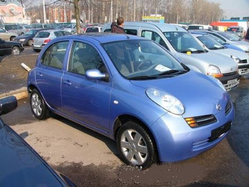 2003 nissan micra pictures for sale