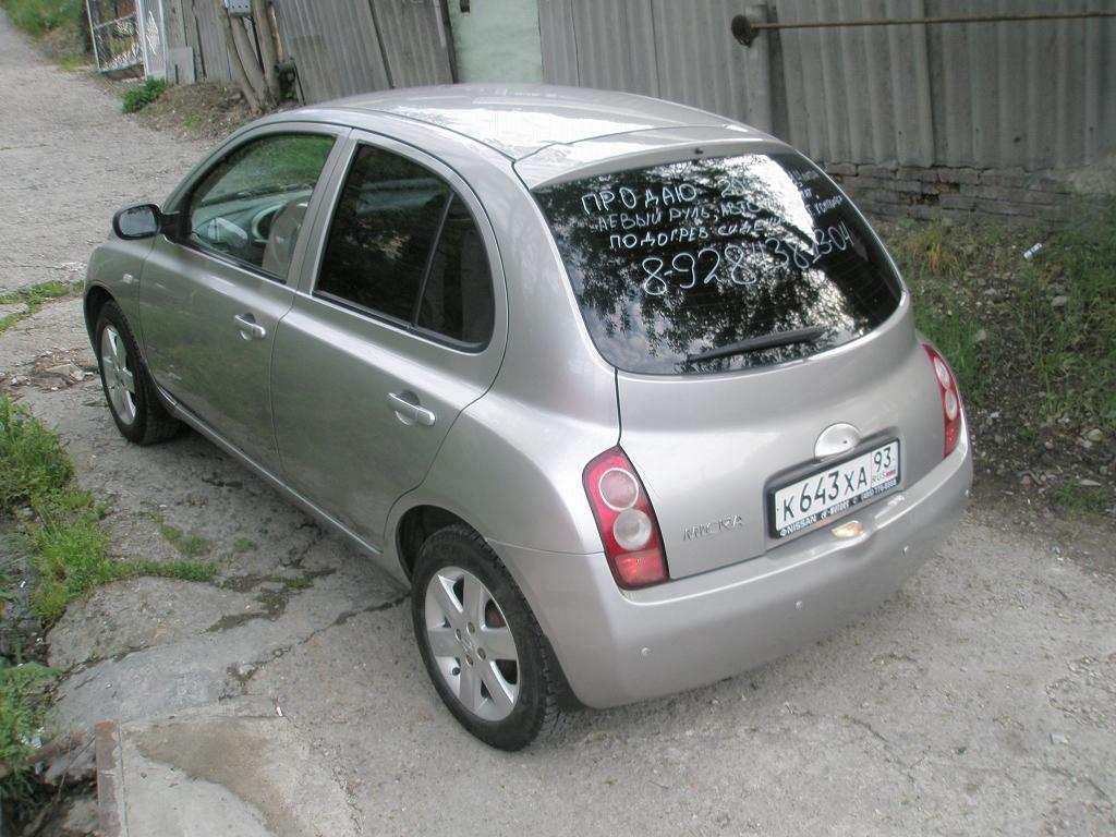 2003 nissan micra images 1400cc gasoline ff automatic for sale. Black Bedroom Furniture Sets. Home Design Ideas