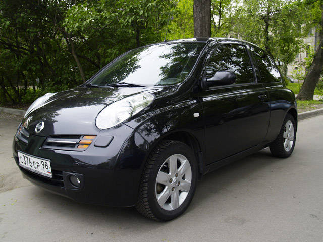 2005 nissan micra pictures 1400cc gasoline ff. Black Bedroom Furniture Sets. Home Design Ideas
