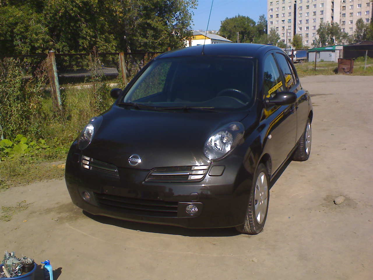 used 2005 nissan micra photos 1240cc gasoline ff automatic for sale. Black Bedroom Furniture Sets. Home Design Ideas