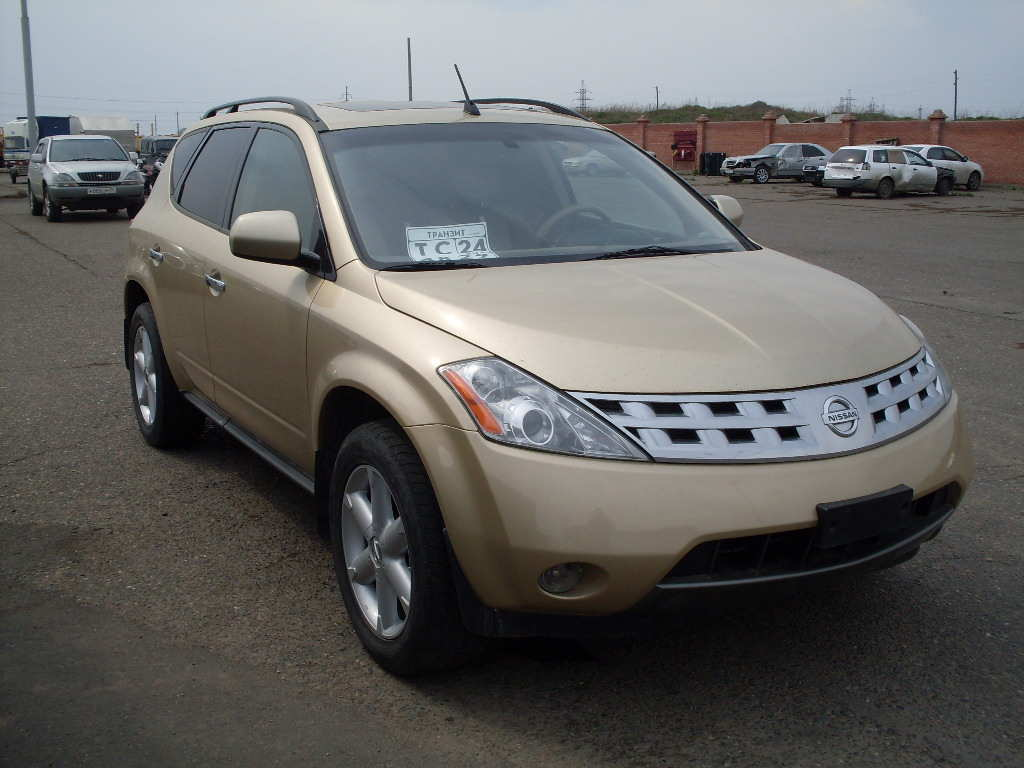 2003 nissan murano pictures 3500cc gasoline automatic for sale. Black Bedroom Furniture Sets. Home Design Ideas