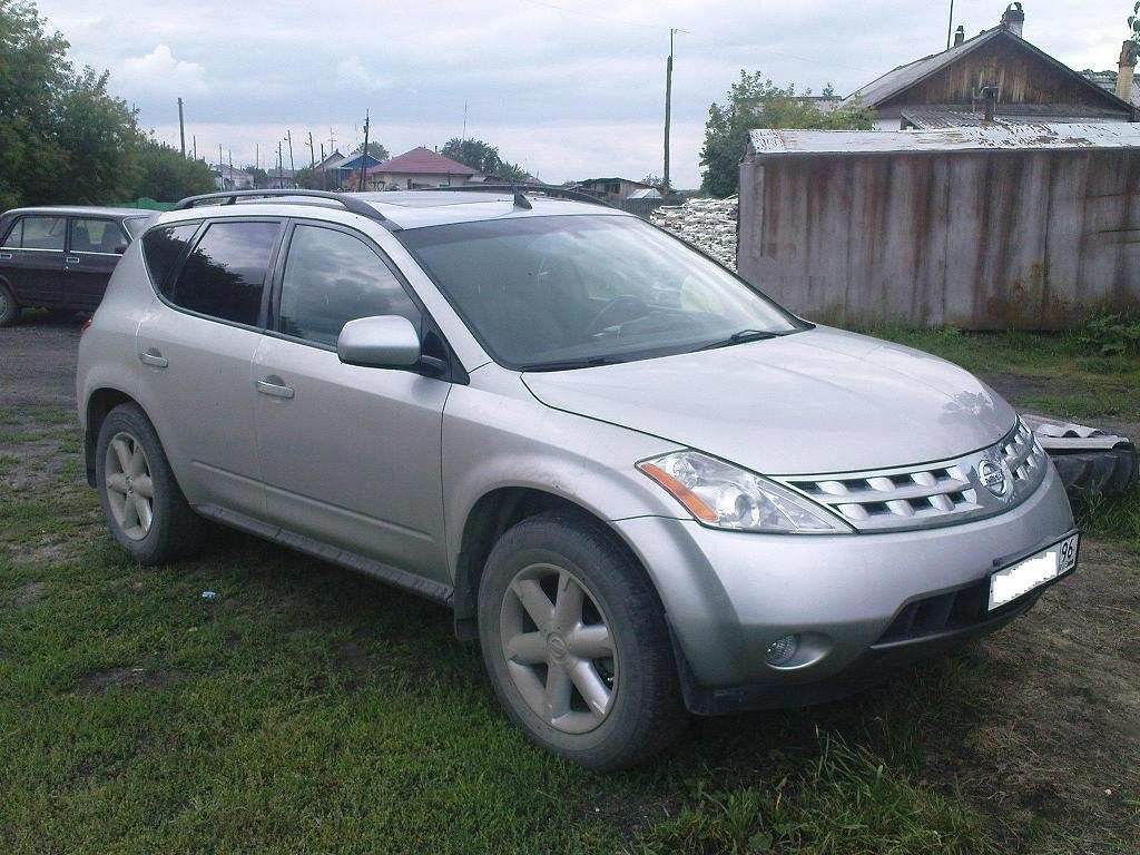 Used 2003 Nissan Murano Photos 3500cc Gasoline