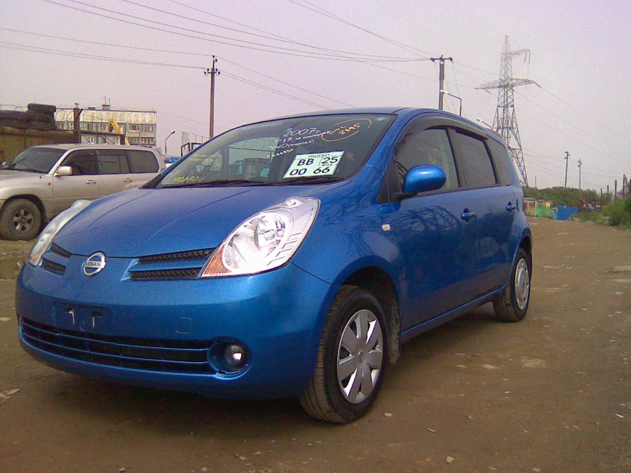 used 2007 nissan note photos 1500cc gasoline automatic for sale. Black Bedroom Furniture Sets. Home Design Ideas