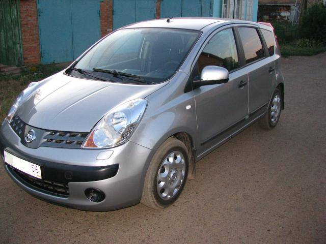 2007 nissan note for sale 1 4 gasoline ff manual for sale. Black Bedroom Furniture Sets. Home Design Ideas