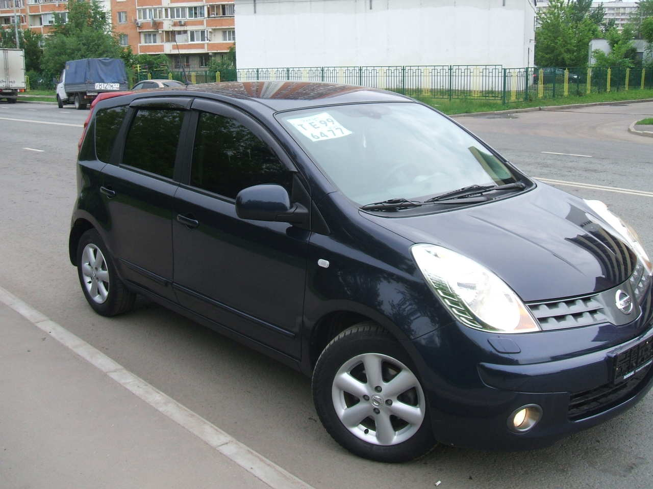 2008 nissan note pictures gasoline ff automatic for sale. Black Bedroom Furniture Sets. Home Design Ideas