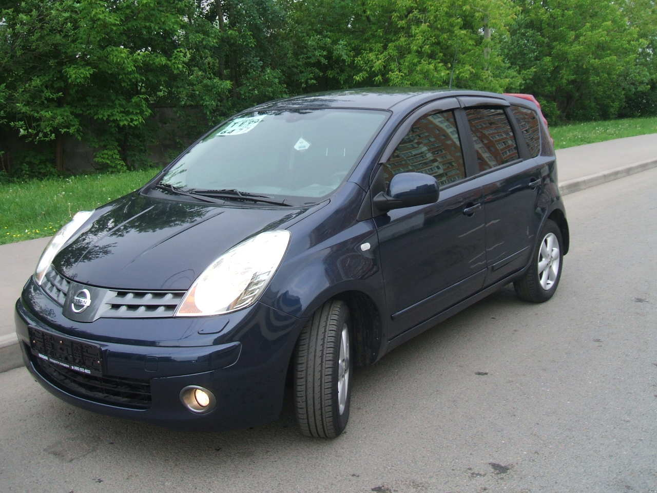 used 2008 nissan note photos 1598cc gasoline ff automatic for sale. Black Bedroom Furniture Sets. Home Design Ideas