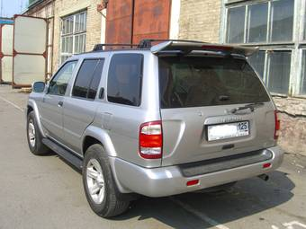 2002 Nissan Pathfinder Pictures 3 5l Gasoline