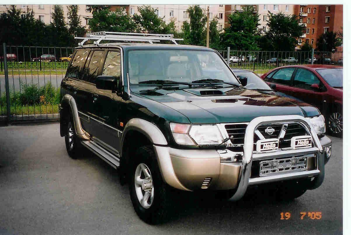 /nissan patrol, 2000